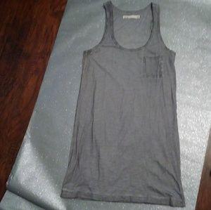NWOT Madewell Hi Line Cotton Sleeveless Tank Dress